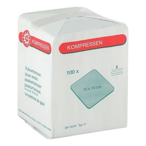 NOBAMED ® Mullkompressen - unsteril 8-fach