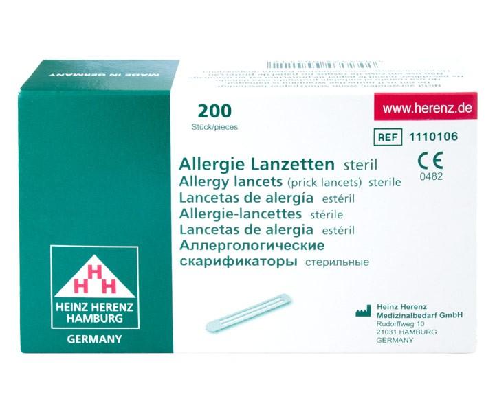 Allergielanzetten, Prick-Lanzetten (200 Stück)