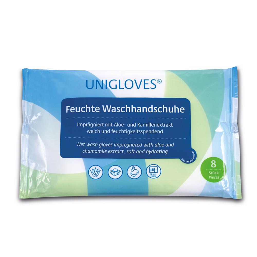 UNIGLOVES - Feuchte Waschhandschuhe