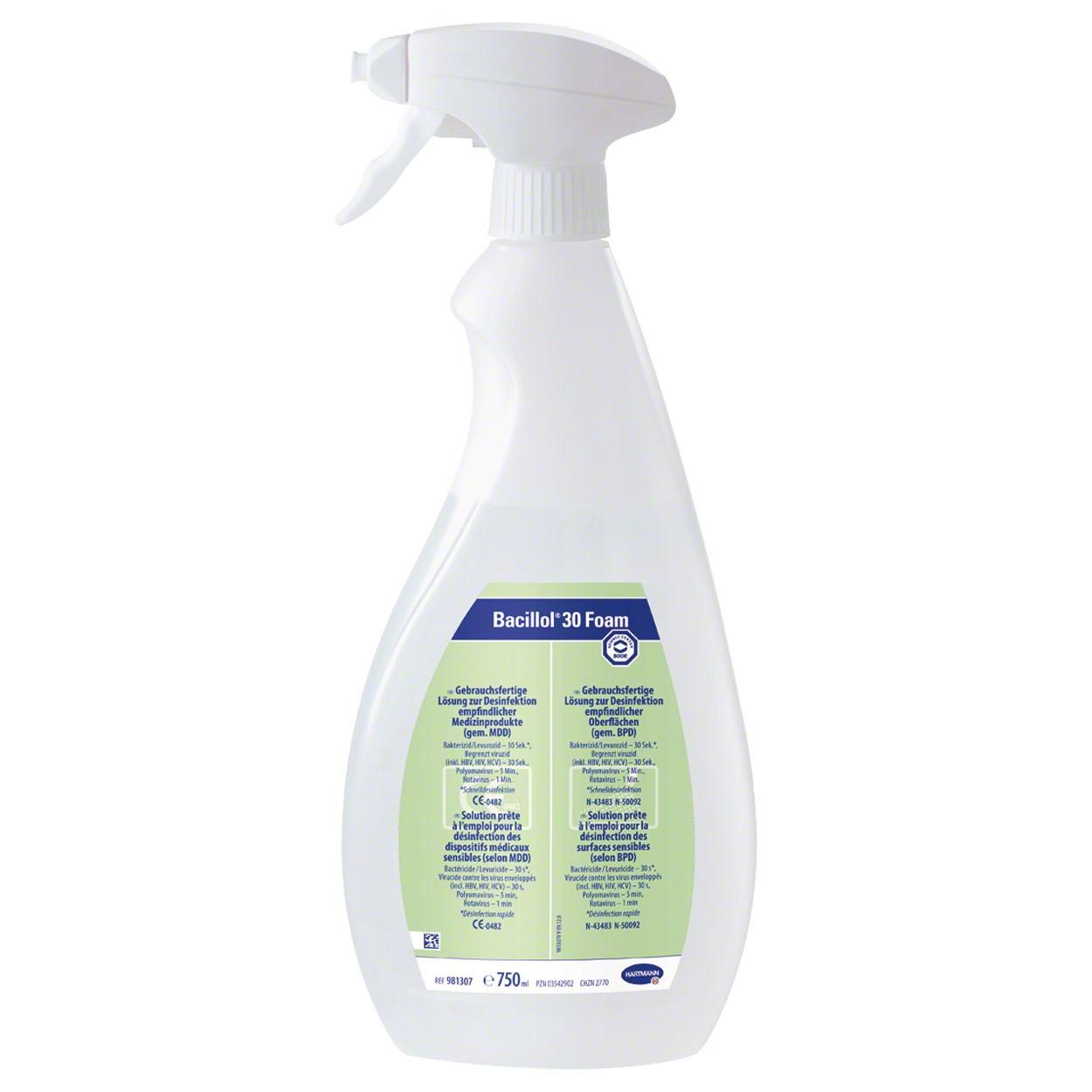 Bode Bacillol® 30 Foam Schnell-Desinfektionsmittel - 750 ml