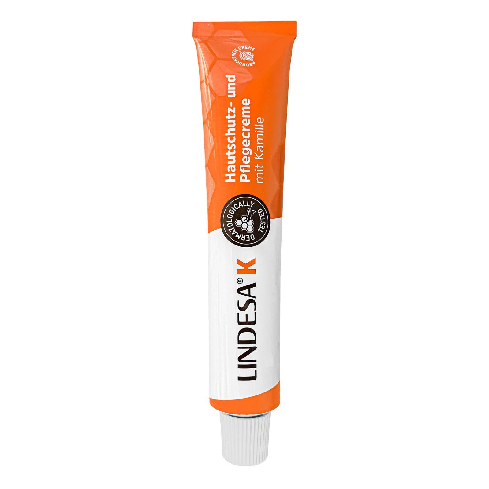 LINDESA® Hautschutzcreme mit Kamille und Bienenwachs