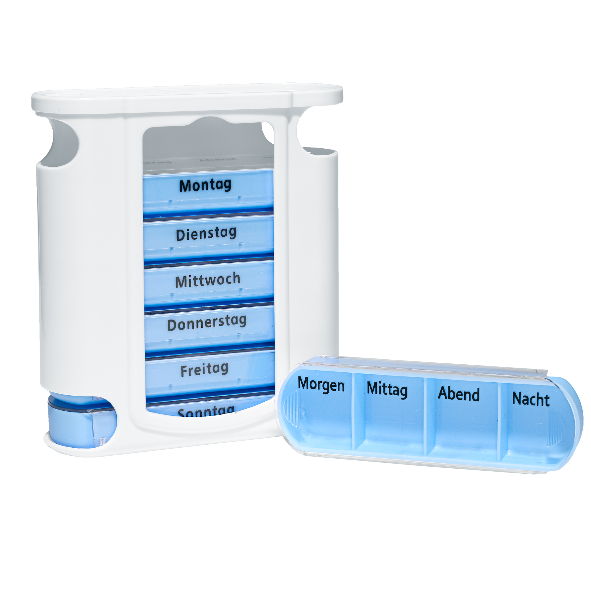 Pillen-/ Tablettenbox - Wocheneinteilung