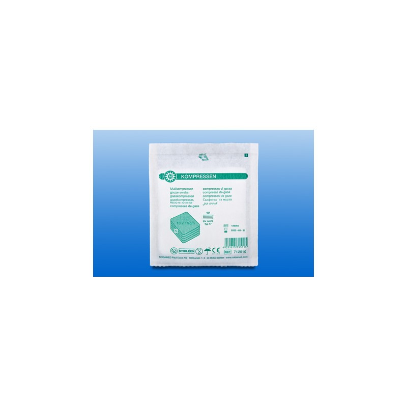 Mullkompresse steril 12-Fach