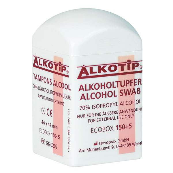 Alkotip - Alkoholtupfer (155 Stk.)