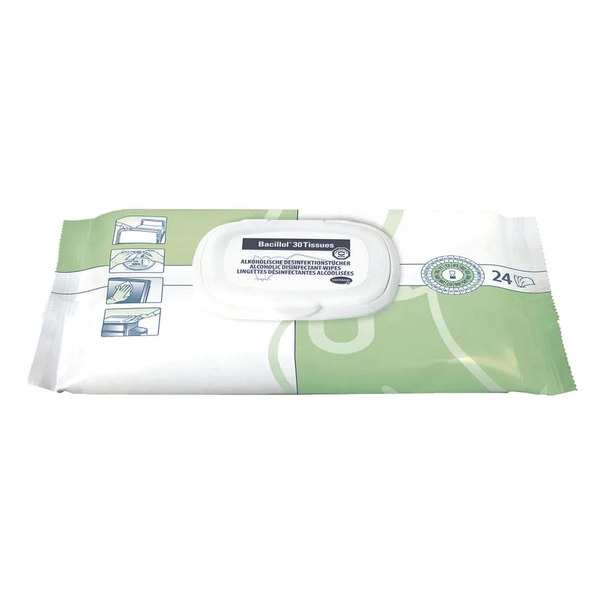 BACILLOL® 30 Tissues Desinfektionstücher (24 Stück)