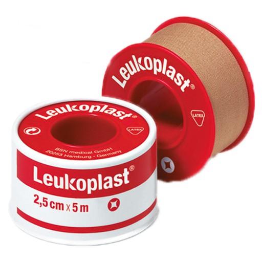 Leukoplast Rollenpflaster - 5m x 2,5cm im Schutzring