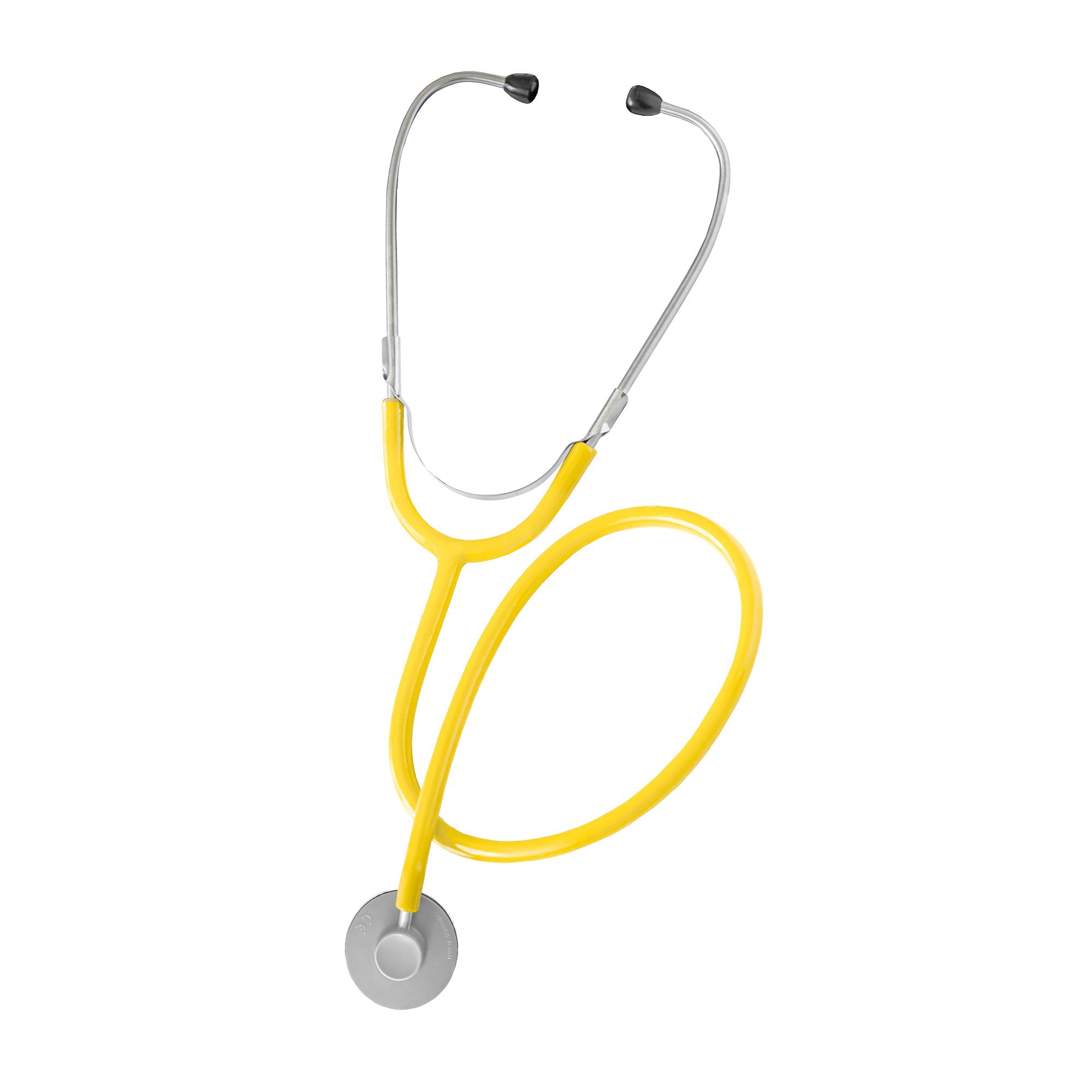 Flachkopf Stethoskop - gelb