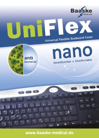 Tastaturschutz Uni Flex Nano