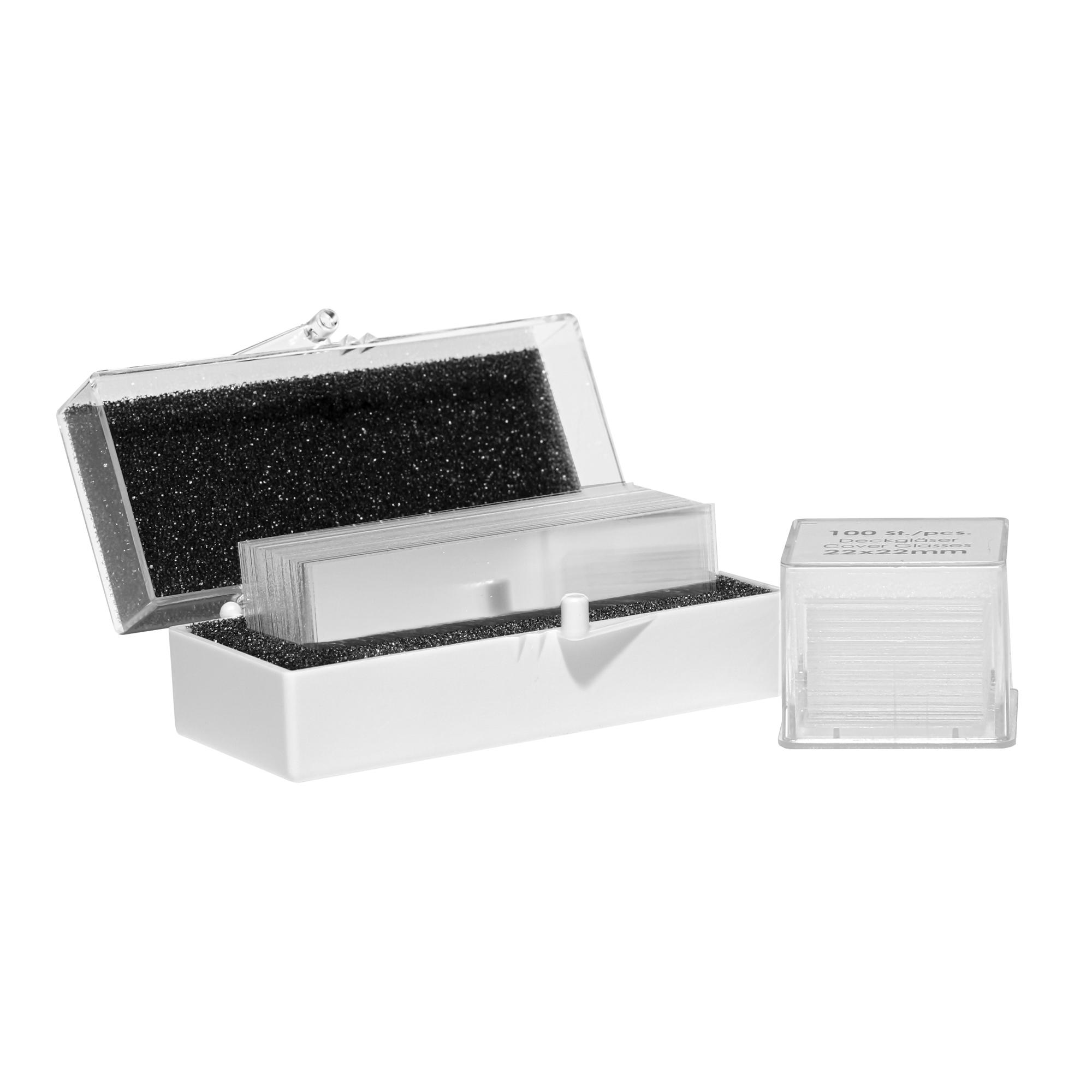 Deckgläser für Mikroskope