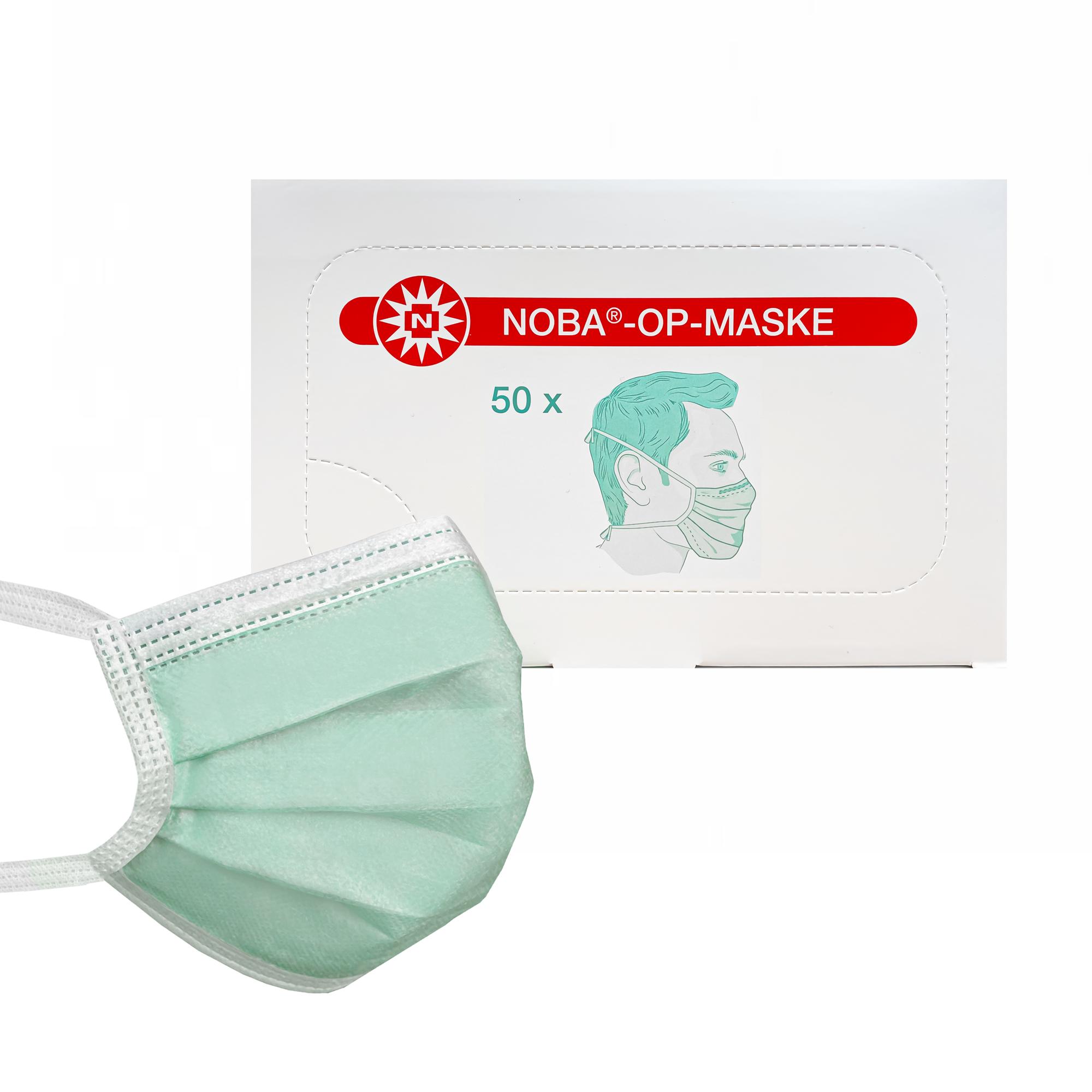 Mundschutz grün Noba OP-Masken